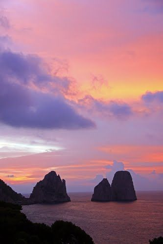 The Beach Club, Capri | Beach Scenes | Pinterest  |Capri Beach Scenes