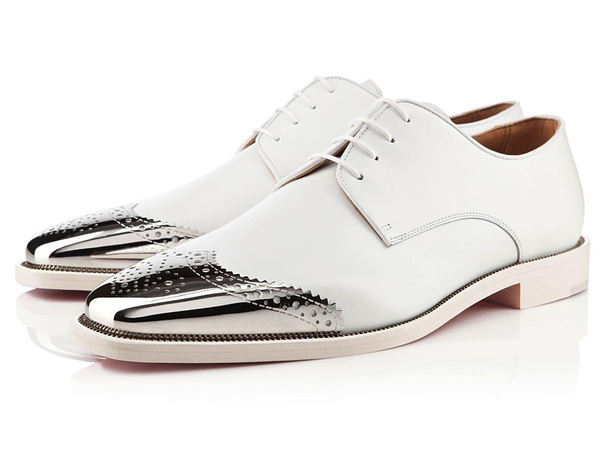 6322c890a97e My Husband s wedding shoes - Christian Louboutin Gareth Zip Men s ...