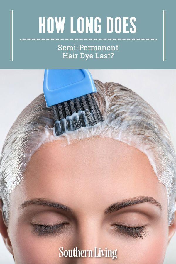 How Long Does Semi-Permanent Hair Dye Last? in 2021   Semi ...