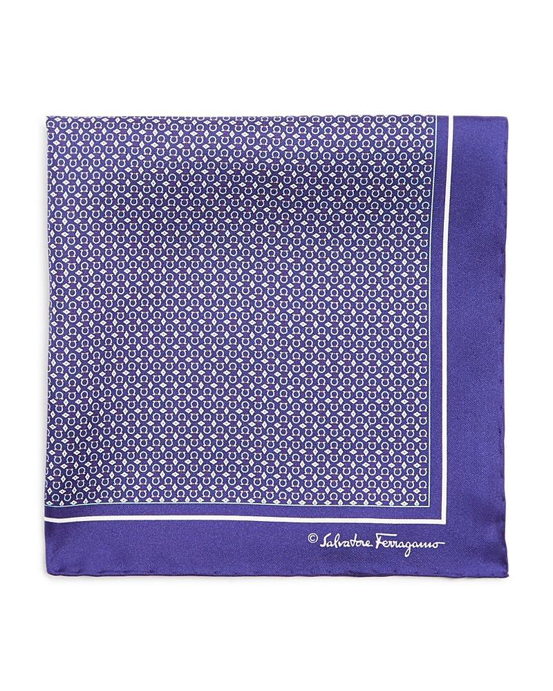 99.99$  Buy now - http://vibds.justgood.pw/vig/item.php?t=q6n9o5812170 - Salvatore Ferragamo Gancini Diamond Pocket Square 99.99$