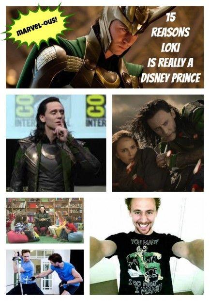 15 Reasons Why Marvel's Loki is Really a Disney Prince