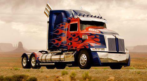Truck Optimus Prime Wallpaper Arte De Camiseta