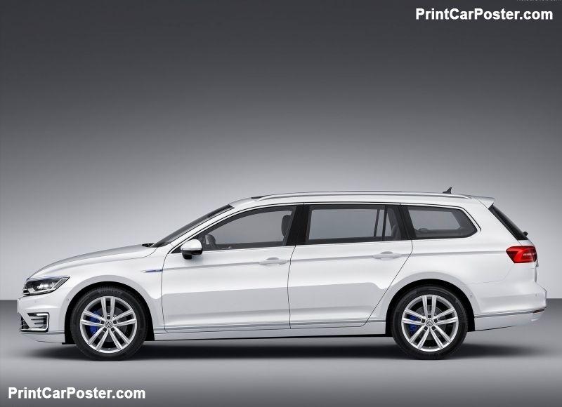 Volkswagen Passat Gte 2015 Poster Volkswagen