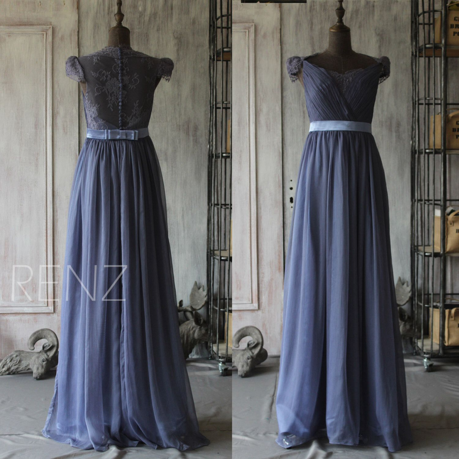 2015 New Lace Backless Bridesmaid dress with sleeves, Wedding dress, Party dress, Formal dress, floor length Elegant dress  (F120) by RenzRags on Etsy https://www.etsy.com/listing/223722171/2015-new-lace-backless-bridesmaid-dress