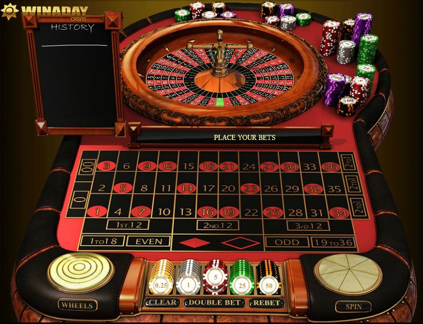 Hit lucky 36 at the roulette tables. vegas gaming