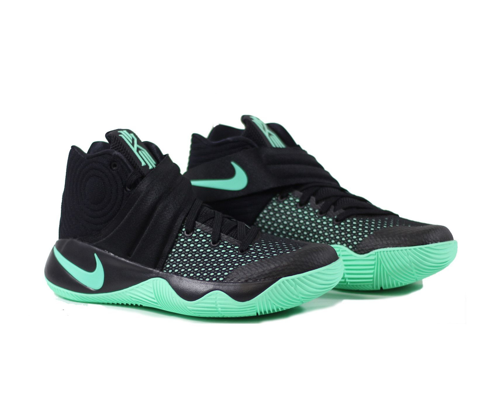 watch 97256 a3faf NIKE Kyrie 2 'Kyrie-Oke' - Black/Green Glow | kicks | Shoes ...