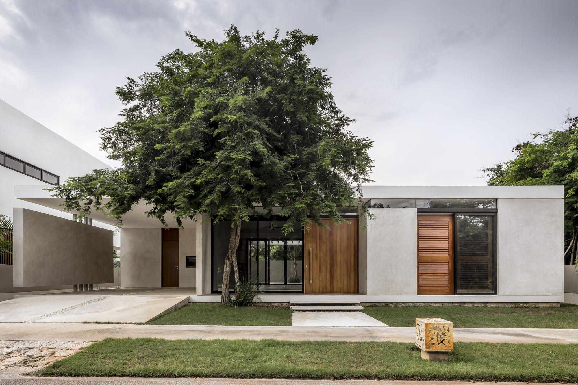 Casa Country Arista Cero Contemporary House Exterior White Exterior Houses Country House