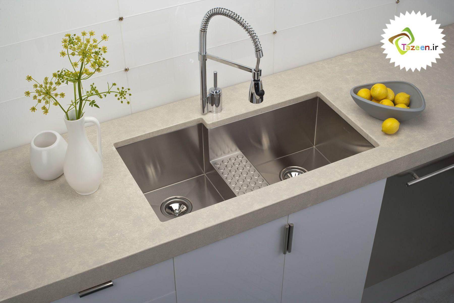 سینک ظرفشویی شیک و جدید وب سایت تزئین Best Kitchen Sinks