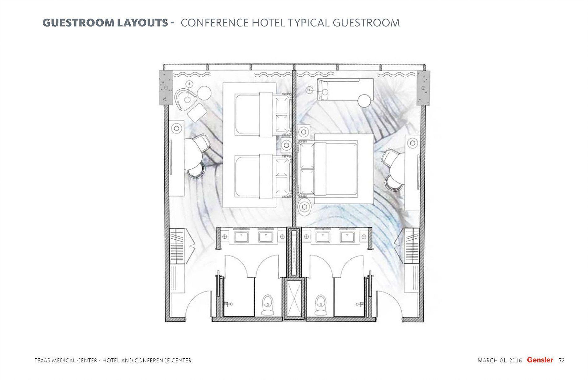 Tmc Hotel Typical Guestroom Plan Hotel Floor Hotel Hotel Floor Plan