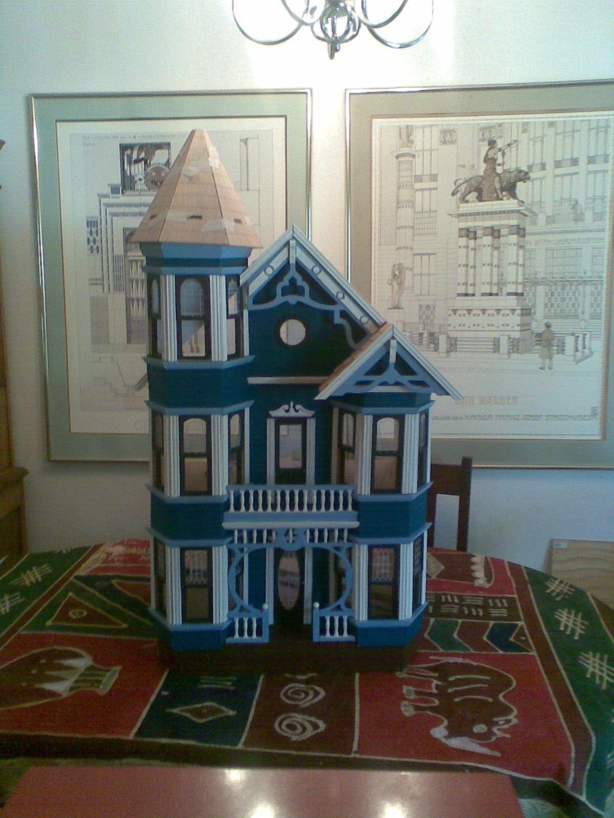 San Franciscan House Duracraft Kit Doll Houses