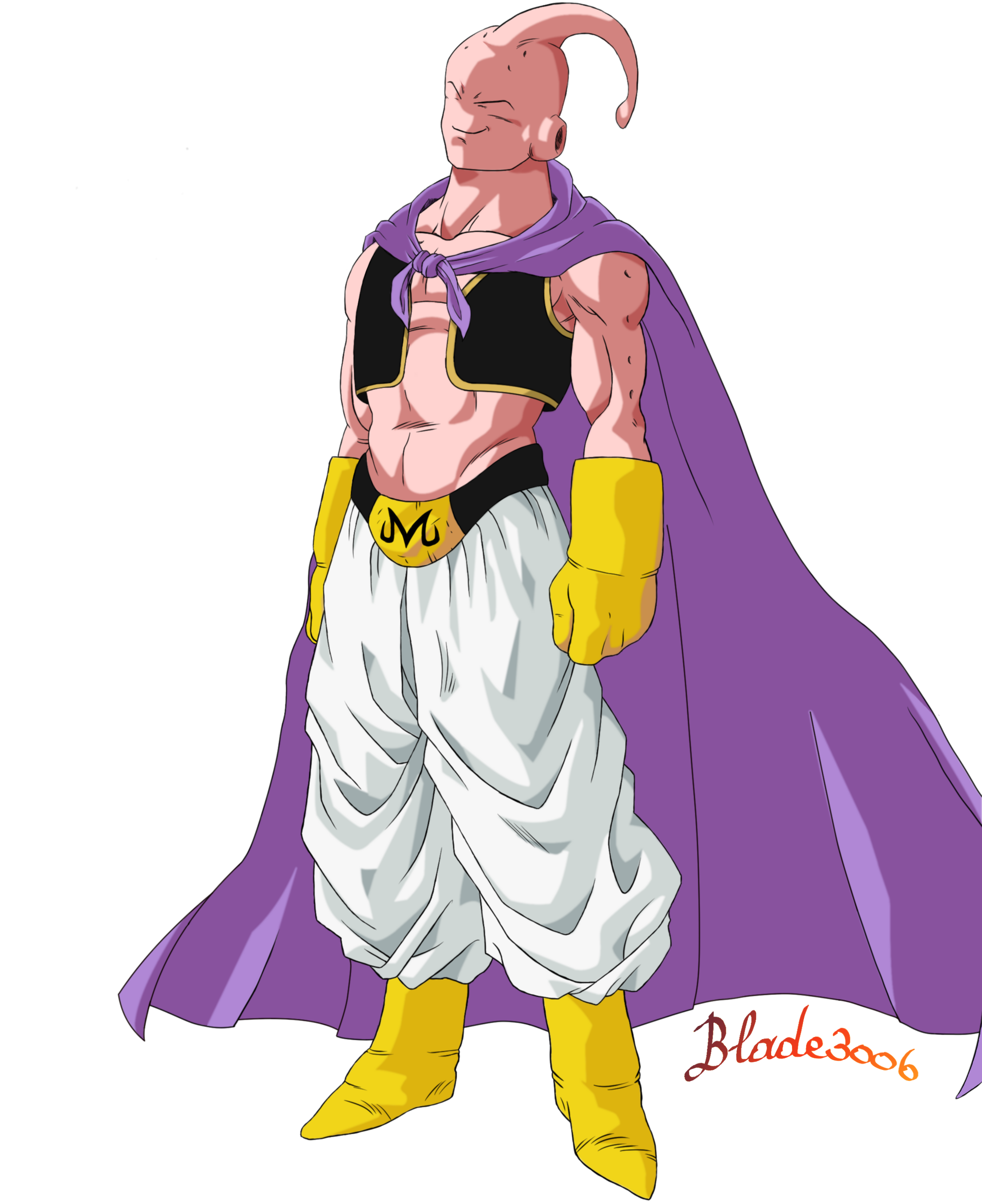 Slim Majin Buu By Blade3006 Dragon Ball Image Dragon Ball Super Manga Dragon Ball Artwork