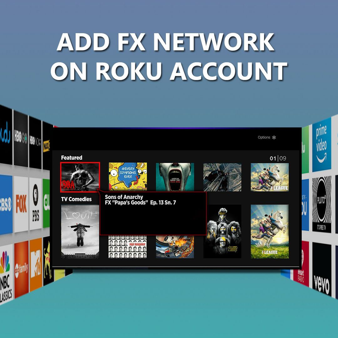 How Can I Add FX Networks on Roku Account Roku Channels