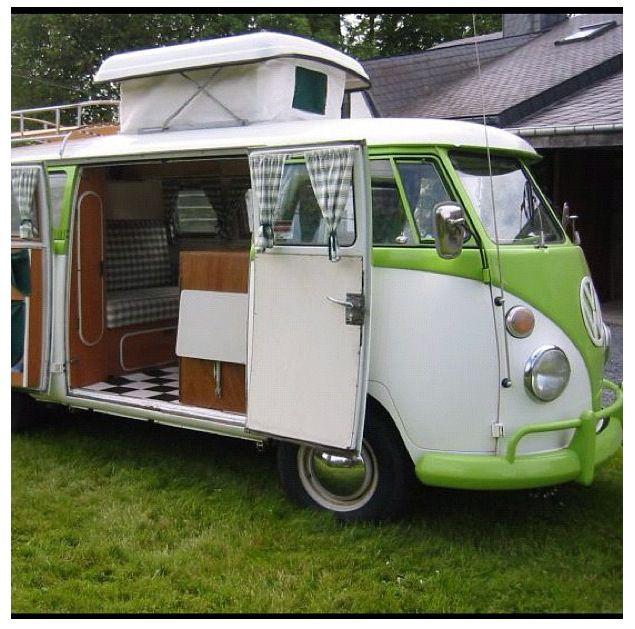 vw combi van beach house caravan inspiration volkswagen bus camper volkswagen westfalia. Black Bedroom Furniture Sets. Home Design Ideas