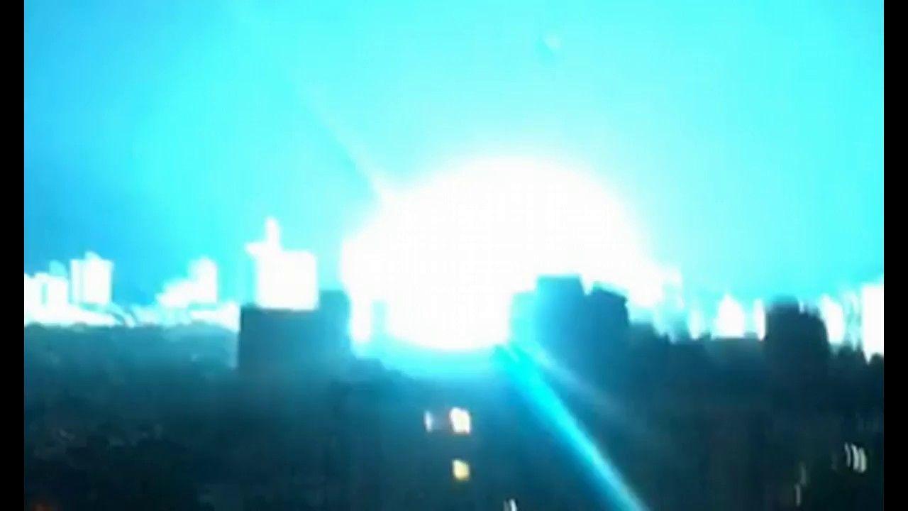 Power Plant Explosion In Venezuela Illuminates Night Sky Leaves