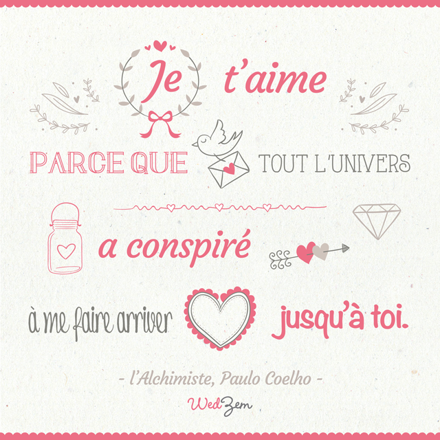 #citation #amour #mariage #quote #wedding #love by Paulo #Coelho