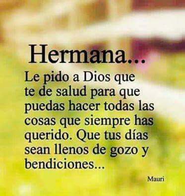 Pin de aura gomez en mis oraciones pinterest sisters family quotes y god prayer - Mi tarjeta family ...