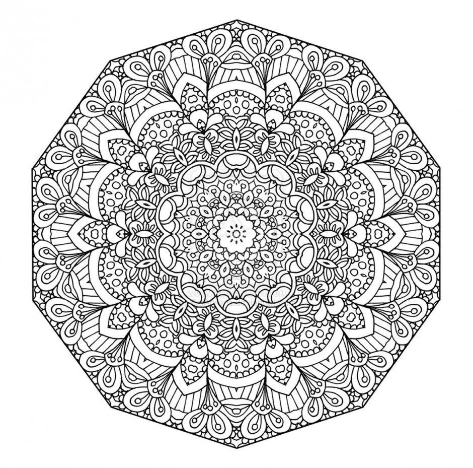 Coloriage Mandala Difficile A Imprimer.Coloriage Mandalas Difficile A Imprimer Pour Les Enfants Cp17145