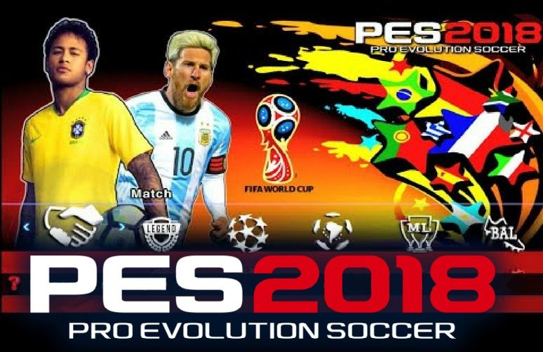 d610dea8514 PES 2018 World Cup Russia Edition Offline 700MB Best HD Graphics PPSSPP for  Android and iOS