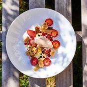 Fraises de pays infusées à l'hibiscus - une recette Recettes de chefs - Cuisine