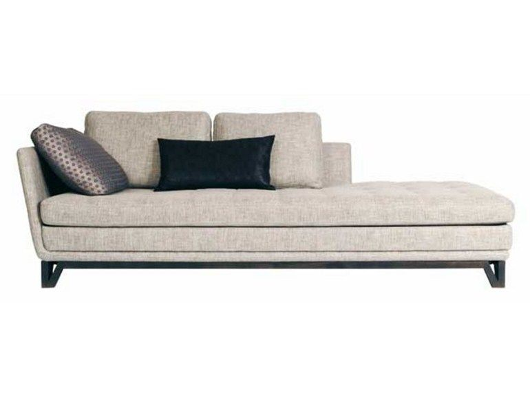Upholstered fabric day bed LITTORAL Les Contemporains Collection ...