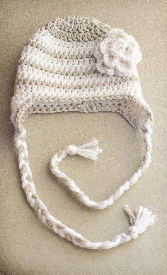 Crochet girl hat | lana | Pinterest | Gorros, Tejido y Gorros crochet