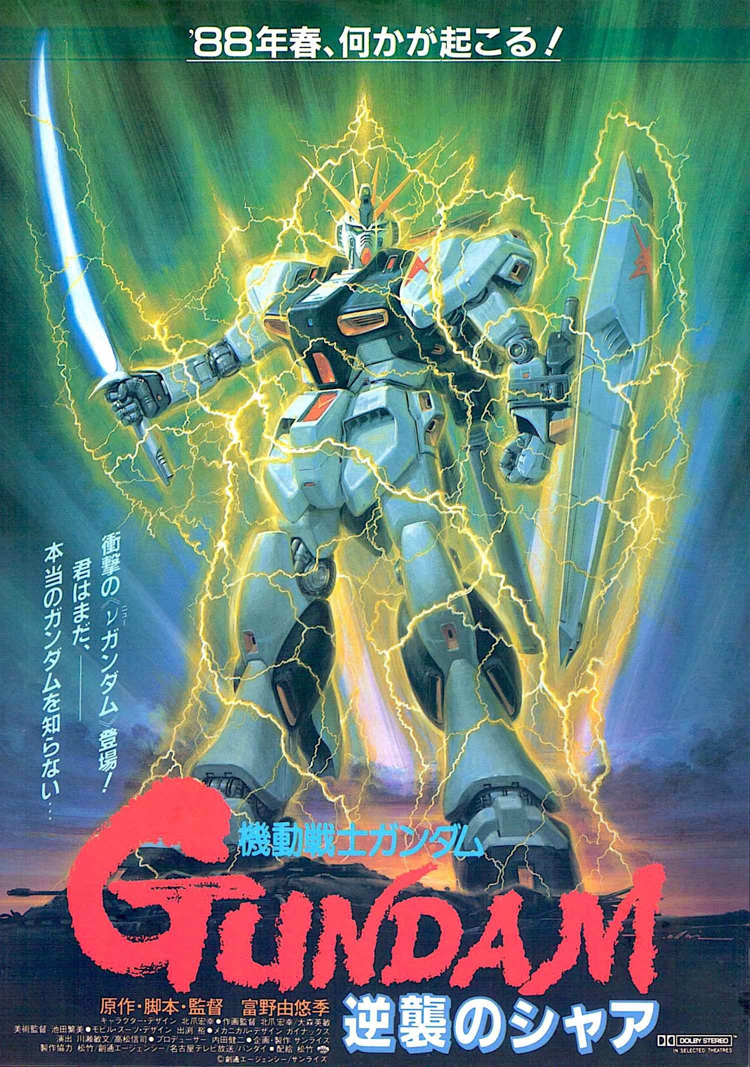 Mobile suit gundam chars counterattack 80s anime