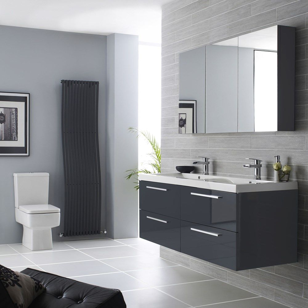 light grey bathrooms