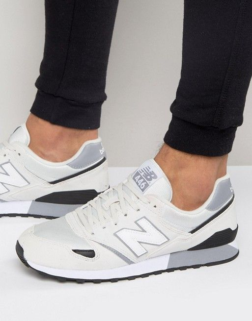dirt cheap genuine shoes top brands New Balance 446 Trainers In White U446WB | shoes | New ...