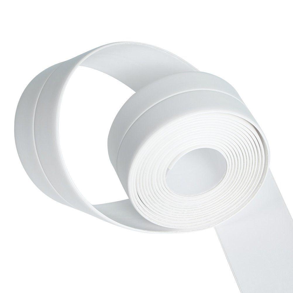 Bestomz Selbstklebende Dichtband Wasserdicht Fur Bad Dusche Waschbecken 260 X 4 Cm Weiss In 2020 Waschbecken Dusche Bad