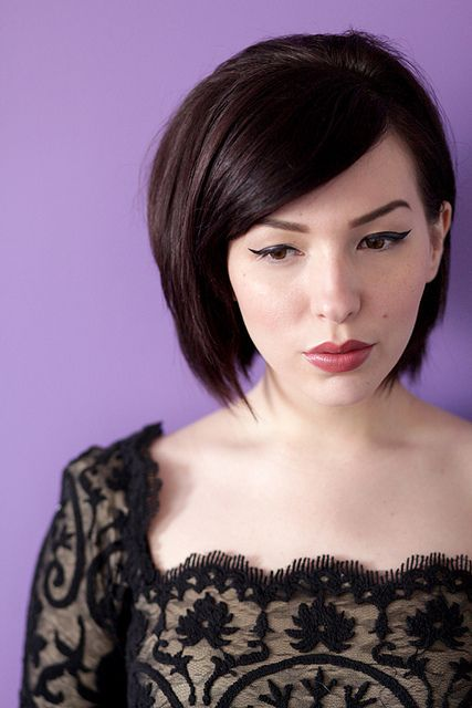 Keiko Lynn has such great hair and makeup all the time. hotelmodern by keikolynnsogreat, via Flickr