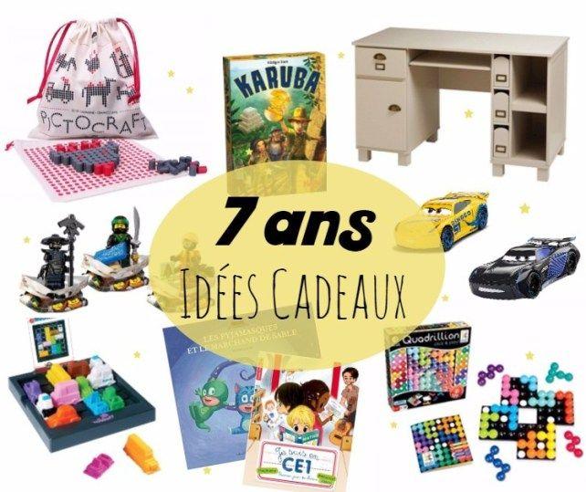 Liste d'idées cadeaux pour enfant 7 ans : jeu de société, jeux de logique, jeux éducatifs ...