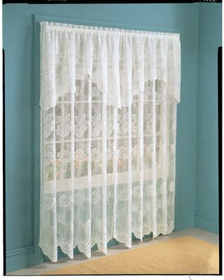 Shop Sales For Window Treatments Lace Curtain Panels White Lace