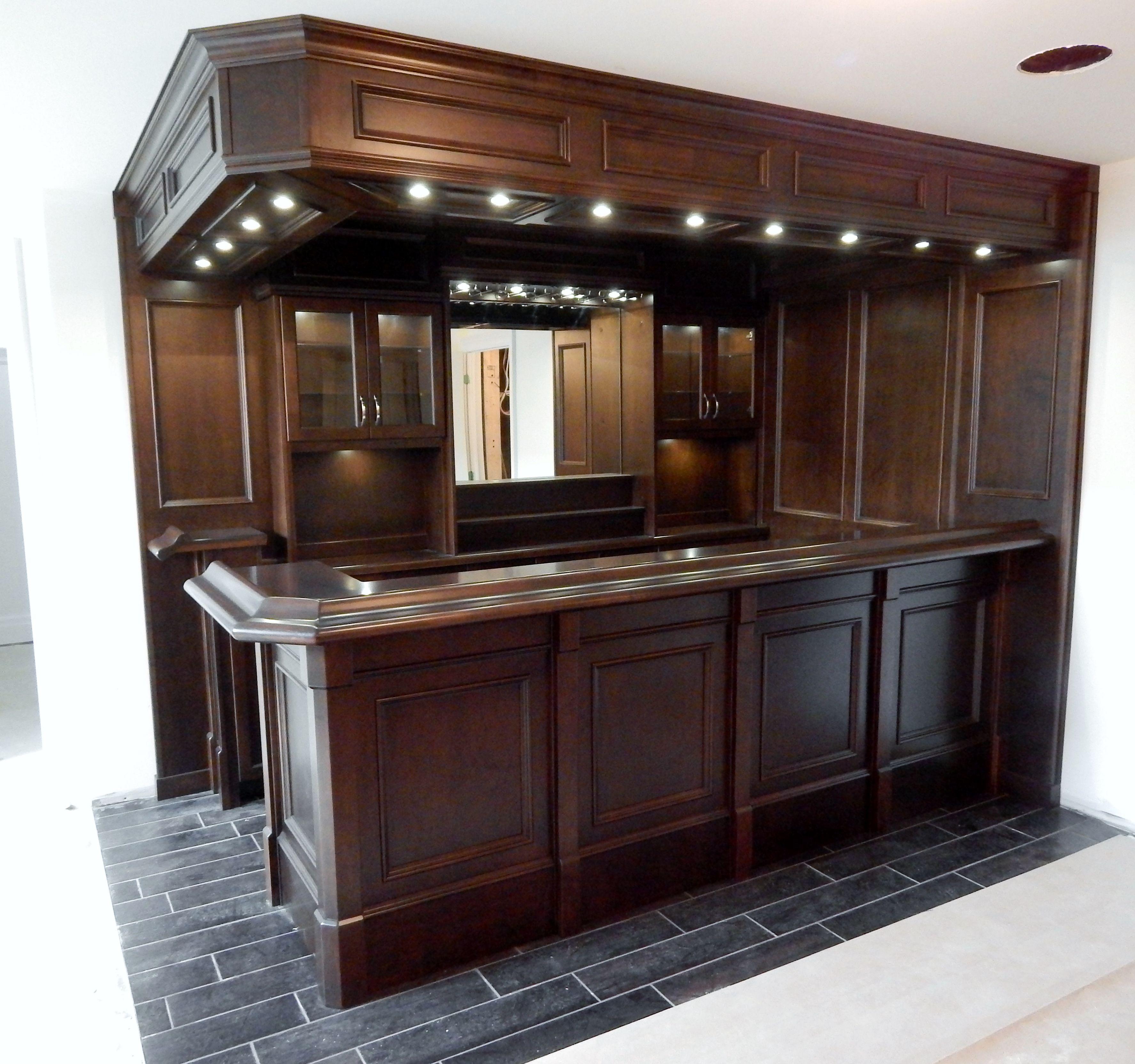 Basement custom bar bars for home custom home bars