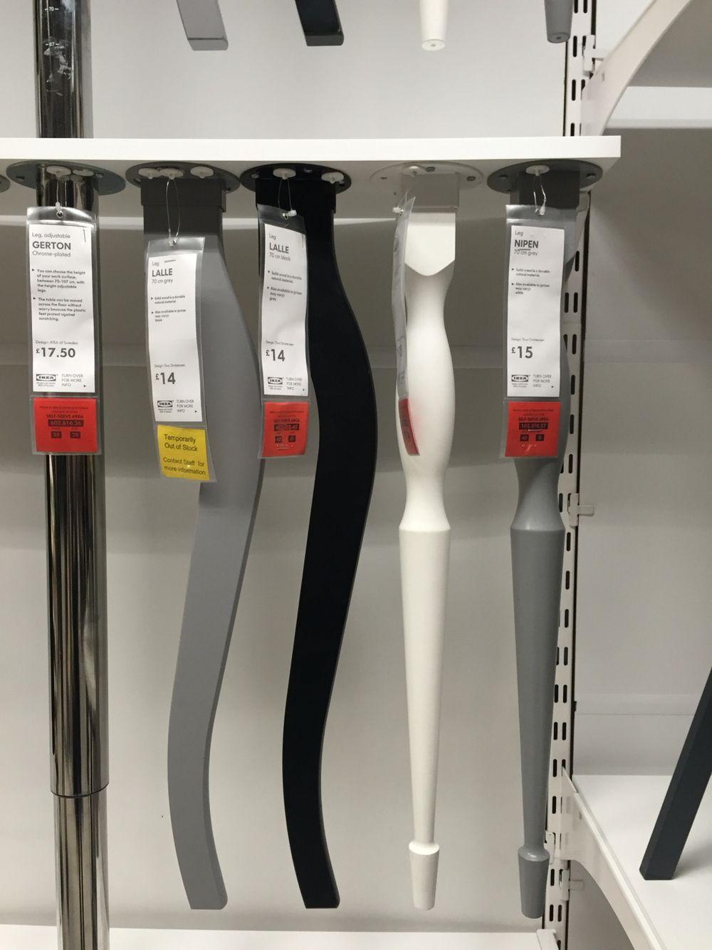 Patas de mesa Ikea  PATAS DE MESAS en 2019  Muebles ikea