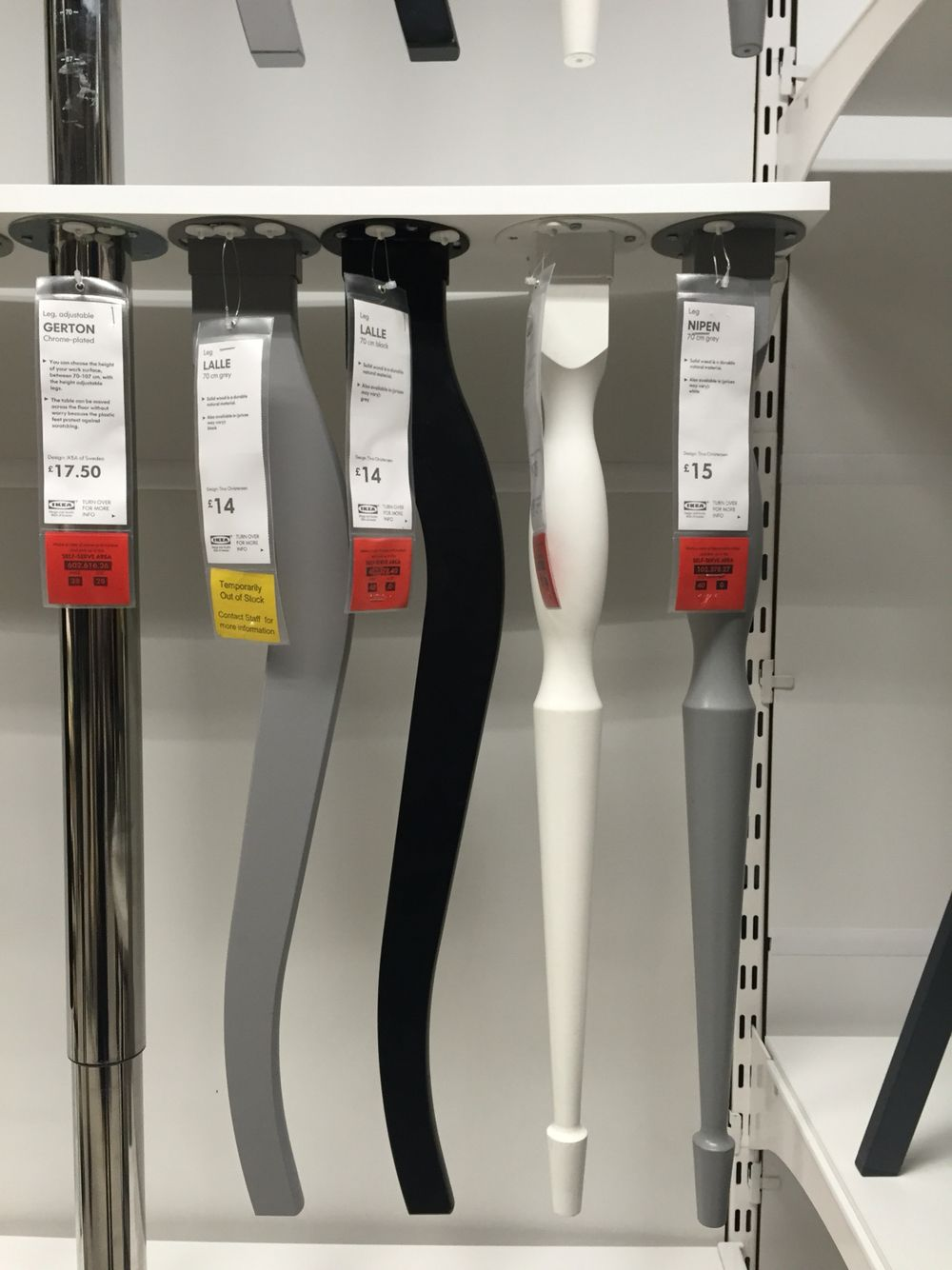 Patas de mesa ikea patas de mesas pinterest - Ikea patas muebles ...