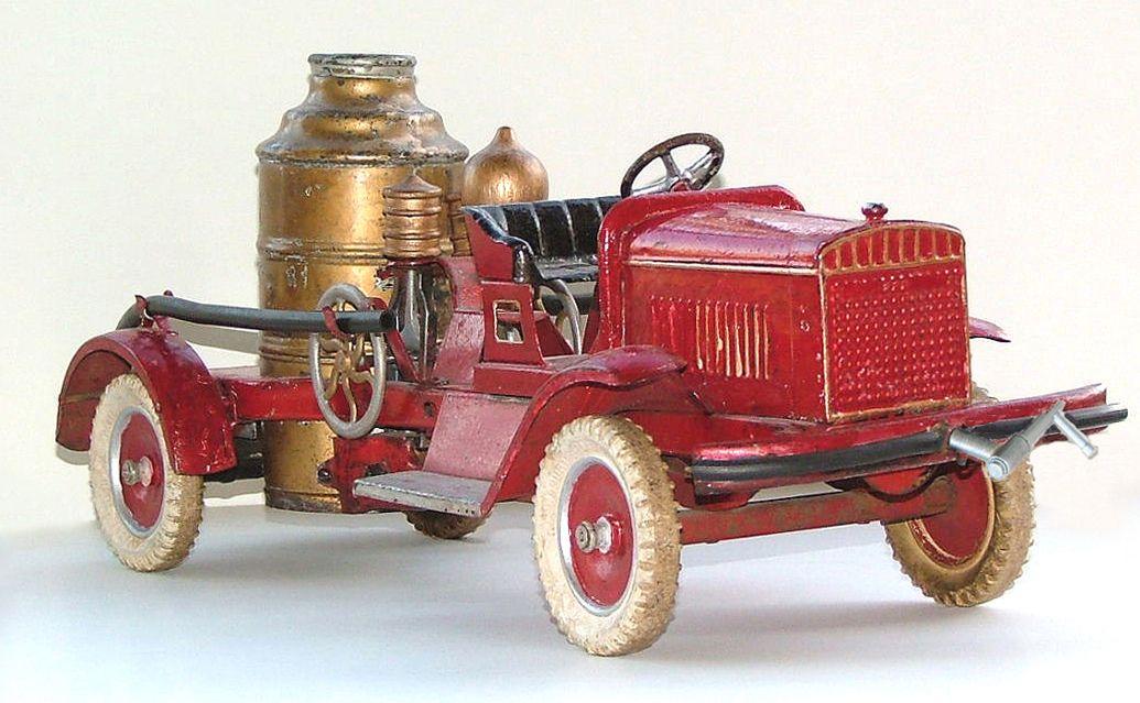 PEDAL CAR ~ Buddy L fire truck...circa 1926 | Old Pedal Cars ...