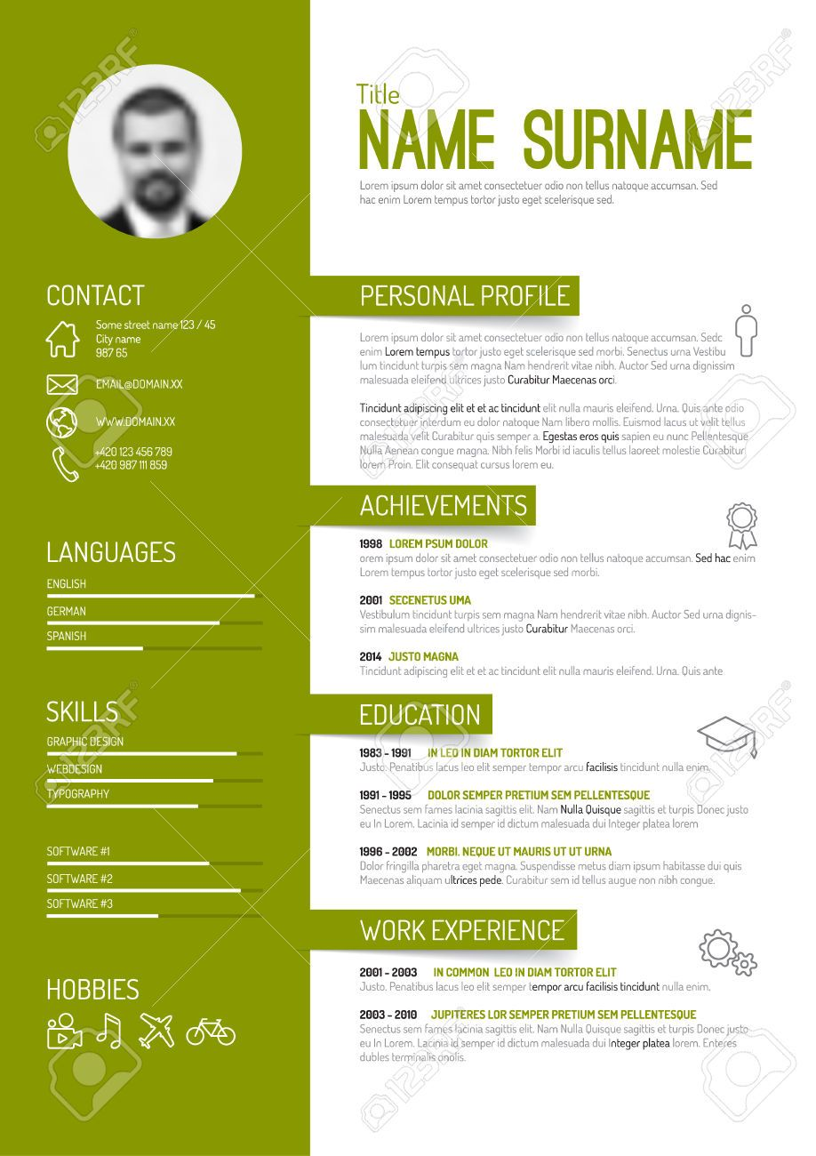 cv in english engineer exemple