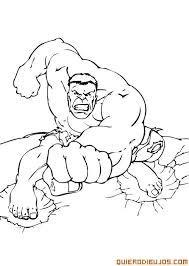Resultado De Imagen Para Increible Hulk Dibujos Para Pintar