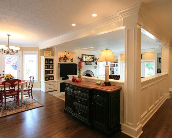 Half Wall Design Pictures Remodel Decor And Ideas Page 47