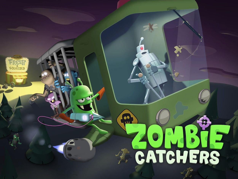 Zombie Catchers Let S Go Hunting Zombie Catchers Games Zombie Zombie