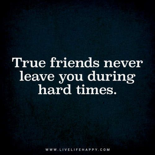 True Friends Never Leave You | Quotes | Quotes, True friendship