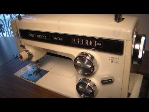 How To Trouble Shoot A Old Kenmore Sewing Machine YouTube Sewing Cool Troubleshooting Kenmore Sewing Machine