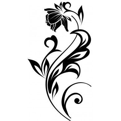 Flourish 30 15 Hand Lettering Alphabet Flower Drawing Stencil Painting