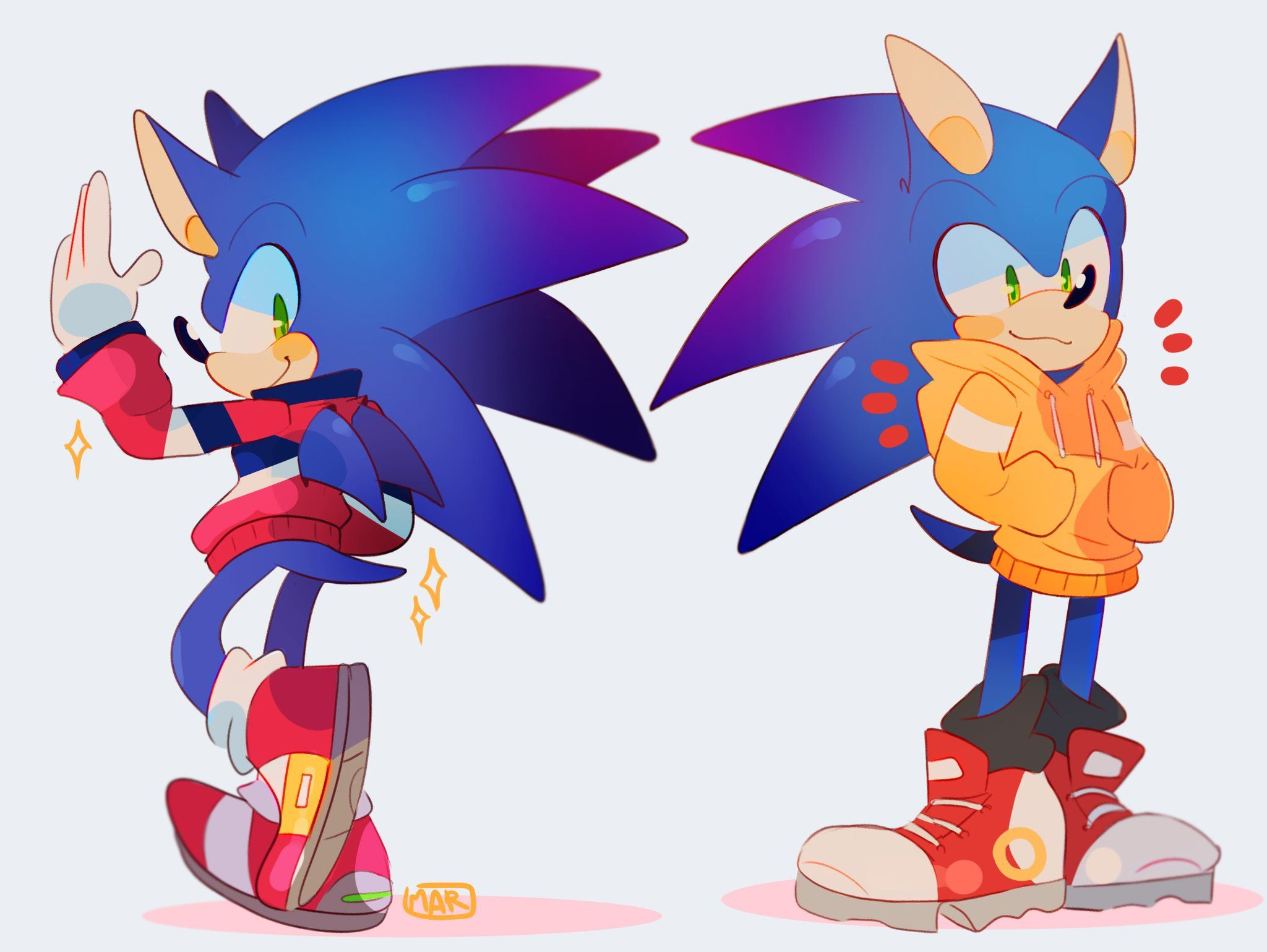 Mar On Twitter Sonic In Cool Jackets Is Always My Favorite Sonic Sonic And Shadow Sonic The Hedgehog
