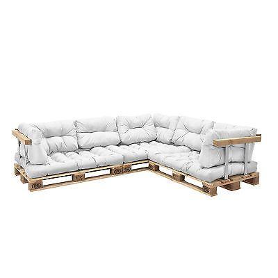 euro paletten sofa 11x sitz r ckenkissen wei kissen auflage dise os pinterest. Black Bedroom Furniture Sets. Home Design Ideas