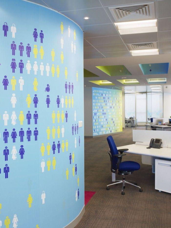 Zain's Colorful Bahrain Headquarters Offices,Seef, Bahrain