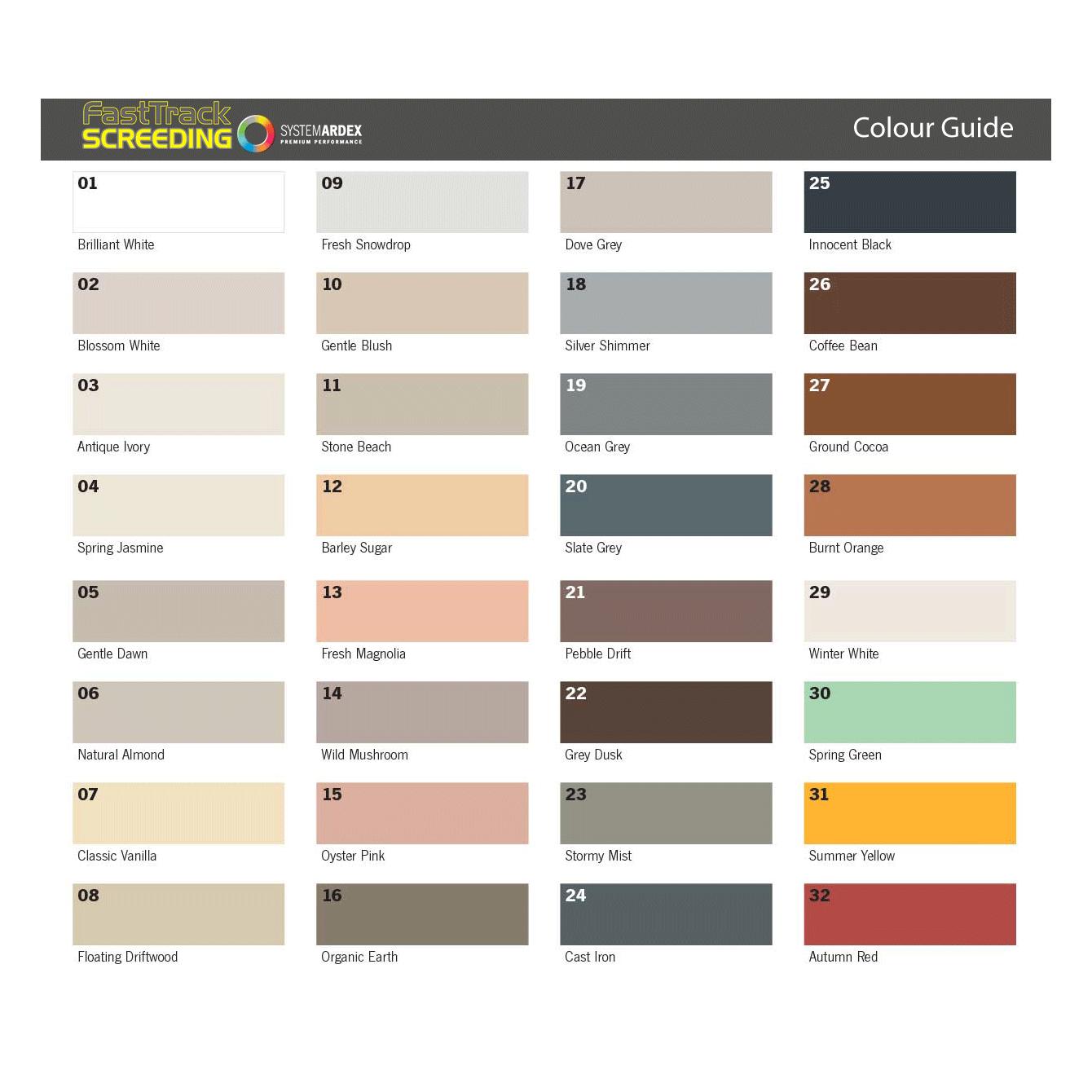 Ardex Flex Fl 2 5kg Grout Color Tile Grout Color Tile