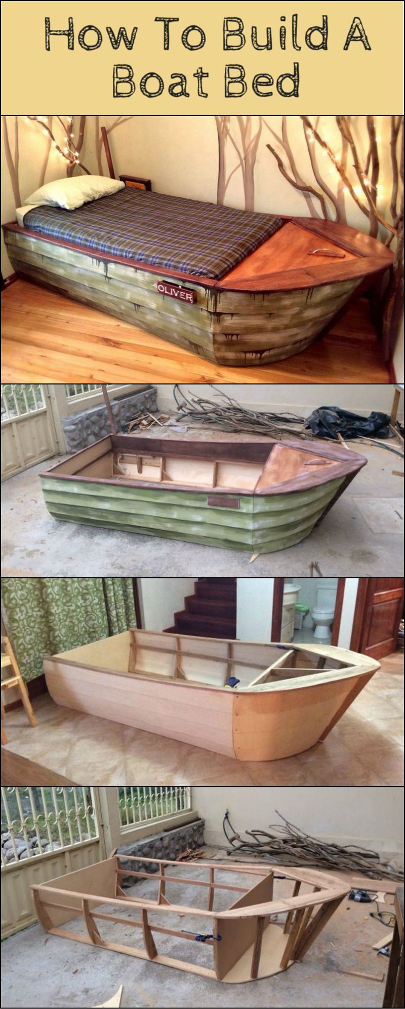 Boat Beds on Pinterest