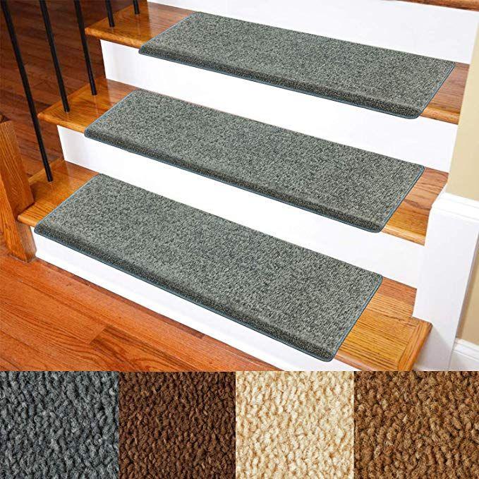 Best Carpet Stair Treads Non Slip Bullnose Carpet For Stairs 640 x 480