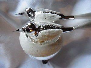 Weihnachtsschmuck Christbaumschmuck Bird Vogel Vogelnest Lauscha